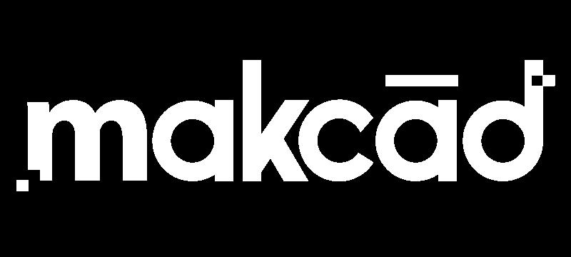 makcad design logo - knocked out